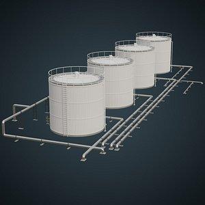 refinery 1a 3D model