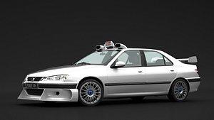 peugeot 406 taxi model