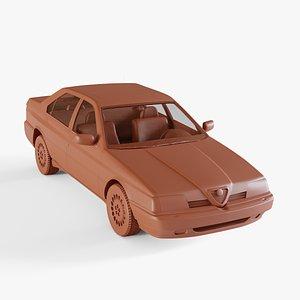3D alfa-romeo alfa romeo model