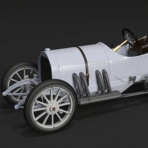 3d 3ds mercedes gp 1908