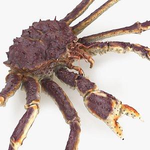king crab 3D model