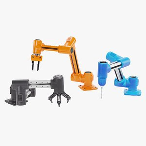 3D Robotic Arms