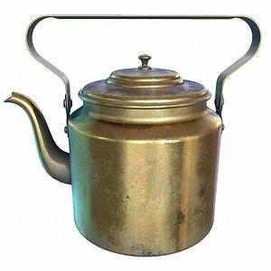 ussr brass teapot model