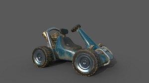 crash bandicoot 3D model