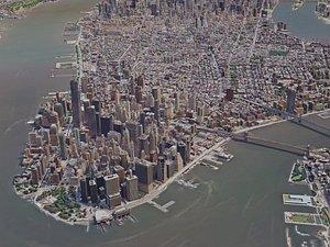 york city manhattan 3D