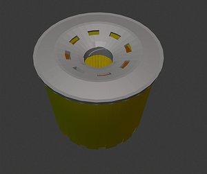 3D carfilter filter