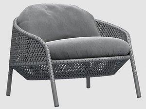 ahnda lounge chair 3D