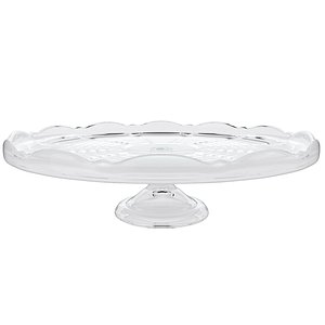 3D Glass cake stand 2