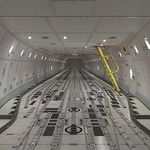 cargo aircraft 3D