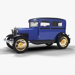 1929 Ford Model A Tudor Sedan model