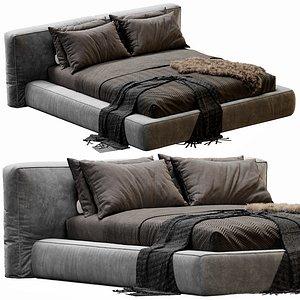 Bonaldo Fluff Bed 3D