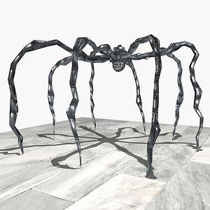 3D Spider statue