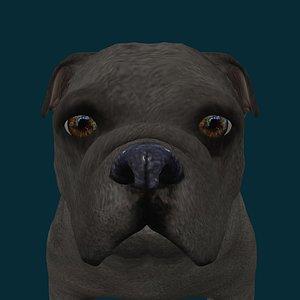 0045 Dog 3D model