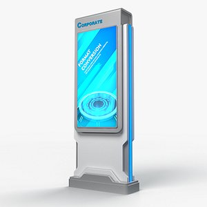 SIGNAGE STAND 02 model