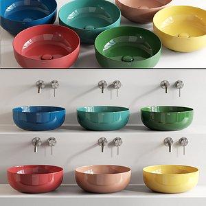 3D le ceramic washbasin