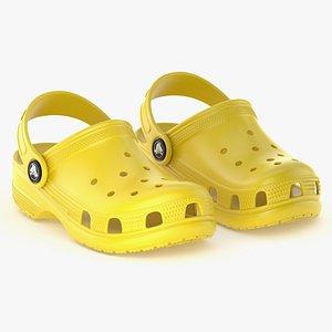 3D clog classic crocs model