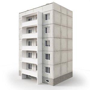 3D suburbs medium build