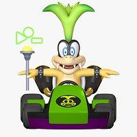 Iggy Standart Kart Mario Kart Assets