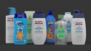 Baby Shampoo Collections model