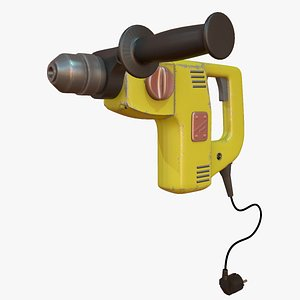 3D hammer drill model