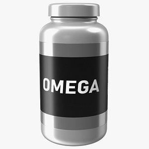 Omega3 Jar 3D