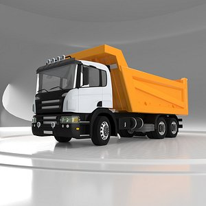 Tipper Truck v02 3D model