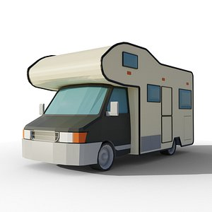rv vehicle car 3D model
