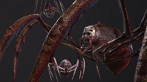 3D model Monster Spider