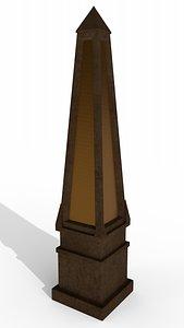 Obelisk 3D