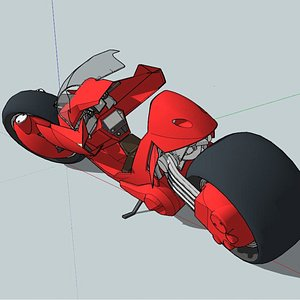 3D motorcycle concept future