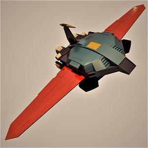 big wing sigma god 3D model