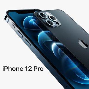 iPhone12Pro-Blender 3D model