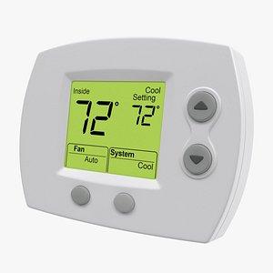 3D thermostat hvac