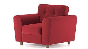 SK Design Arden MT 60 sofa 3D model