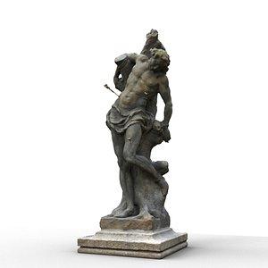 3D Statue of Saint Sebastian of Karlstein