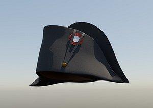 3D bicorn napoleon hat