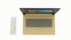 3D acer laptop swift model