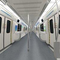 Metro Subway Interior