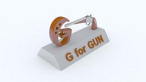 gun g 3D model