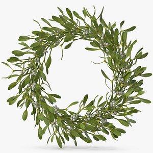Mistletoe Wreath 3D