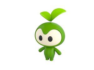 mascot character 3D