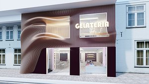 gelateria 01 3D model