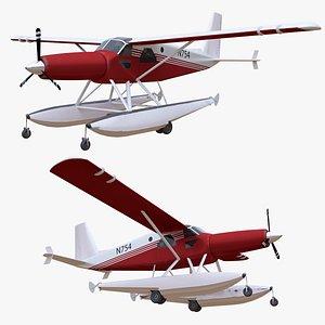 3D plane n754