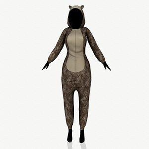 kigurumi 3D model