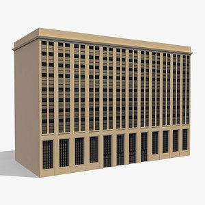 Commercial Building 007 model