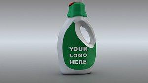 detergent liquid bottle 3D model