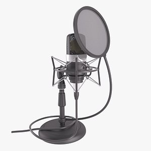 condenser microphone desktop stand model