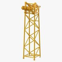 Crane L Head Section 10m Yellow