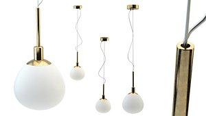 3D model chandelier lighting