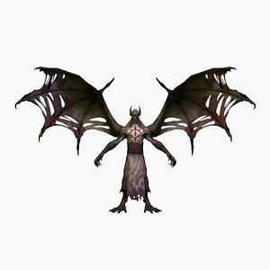 vampirev4 rigged 3D model